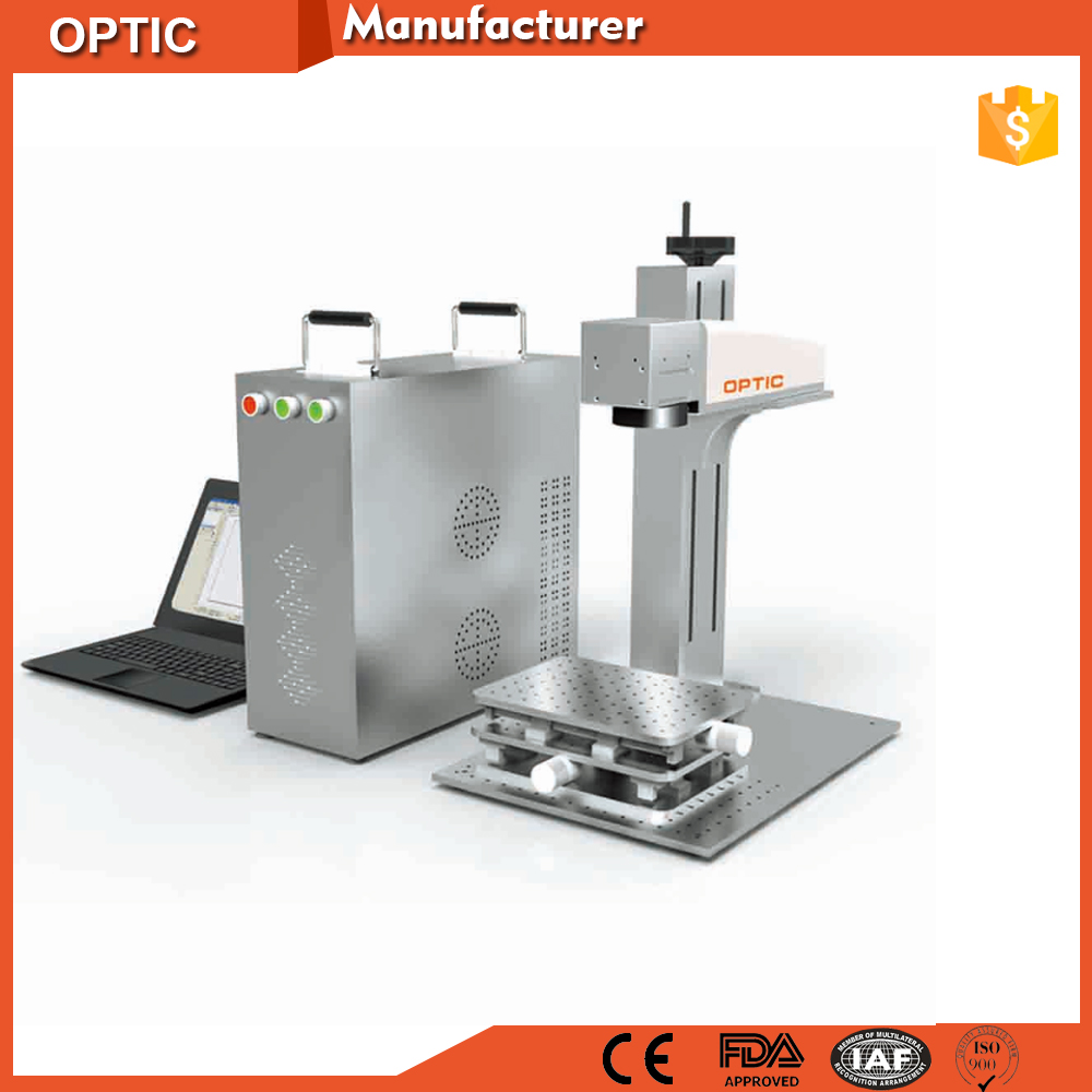 Hottest Machine 30W 50W IPG Laser Engraving Cutting Gold Silver Sheet Laser Marking Machine Price For Sales