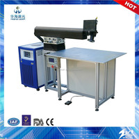 Huahai laser 200W 300W 400W electron beam welding machine for stainless steel material channel letter