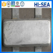 Cathodic Protection Aluminum Sacrificial Anode for Ships Hull