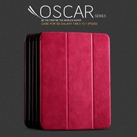 KLD Oscar Series Leather Case for Samsung Galaxy Tab 3 10.1 P5200 P5210 P5220, w/ Wake up / Sleep Function