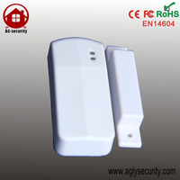 Top Quality CE Met Wireless Magnetic Contact Door Sensor Window Entry Detector alarme 433MHZ