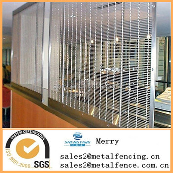 Decorative indoor room metal screen mesh curtain