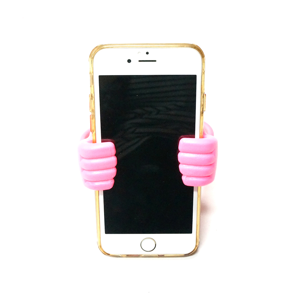 Universal mobile phone holder Thumb up smartphone stand holder Flexible holder for Ipad/tablet/Iphone