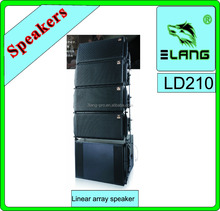 hot sale linear array full range 2 way 3 way power speaker professional box