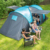 Hot Amazon item 2 cabins tunnel tent 4 person large family camping tent