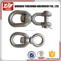Best Hot Dipped Galvanized Marine US Type Double Ring Swivels