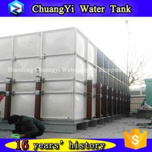 200000-10000 liter many size can be design FRP/GRP square water tank,panel assembled