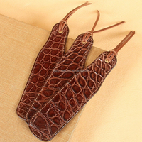 Fashion American Style Brown Crocodile Leather