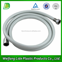 white color pvc plastic shower hose used in home solar systems