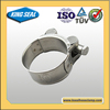 High Quality concrete pump types stainless steel pinch clamps