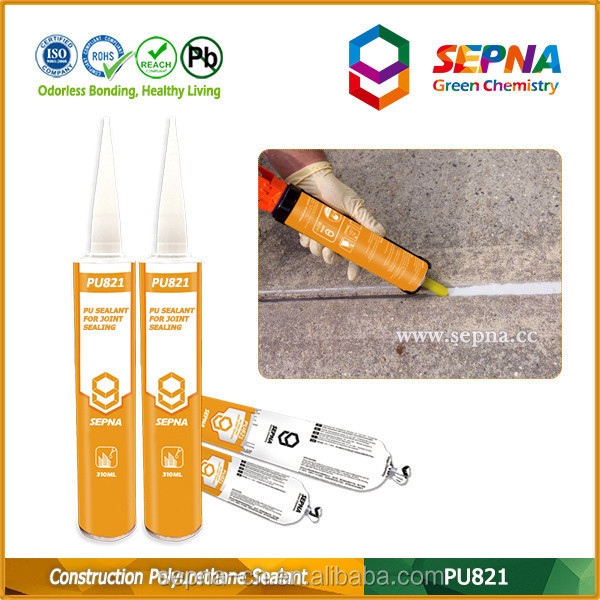 best selling chemical China supplier 310ml drum package polyurethane joint compound sealing compound