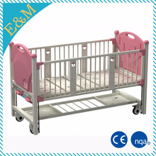 Baby hospital bed for sale Aluminum alloy side rail equipped
