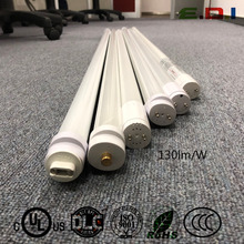 led t5 t8 tubes 18w G13 2300lm factory price DLC UL listed aluminium pc type AB 4ft T8 tube light factory