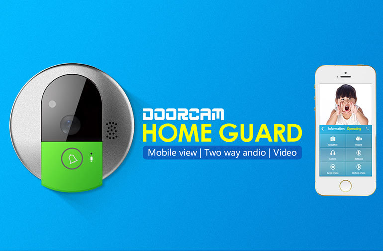 VStarcam Smart Home Plug and Play 720p Two Way Talk wireless video doorbell