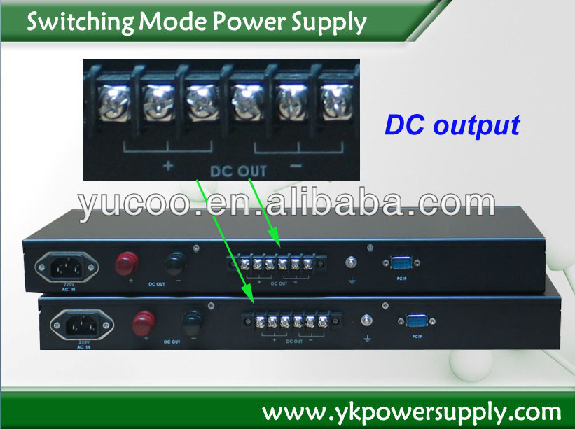 led switching power supply 300w SMPS switch power supply for electroplating