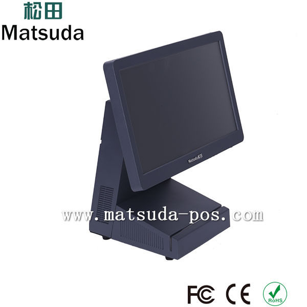fashion dust proof dual core true flat tablet pos computer case
