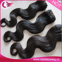 2015 new China wholesale factory supplier human hair extension unprocessed 100% human hair weaving