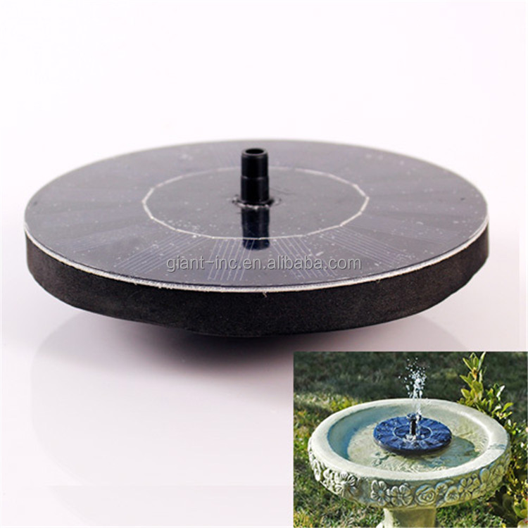 7V/1.4W solar water pump irrigation for agriculture /dc solar submersible pump price for garden fountain pump
