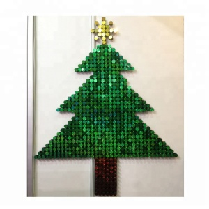 Patent New Shimmer Wall Board For Shopping Mall Christmas Decorations