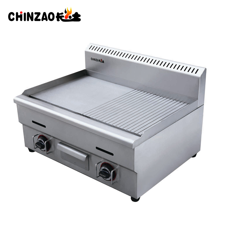 Gas Griddle & Grill Stove Steak Grill Commercial Stainless Steel Hot sales