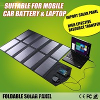 Allpowers Portable Solar Panel Charger 60W 18V Solar Panel Cellphone Charger Laptop Solar Charger for Camping Hiking Adventures.