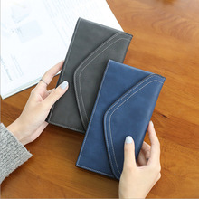 Long Women Wallet With Large Capacity Multifunctional Envelope Shape Flip Lady Wallet