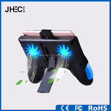 Latest smartphone led cooling fan gamepad 2500mah USB mobile charger