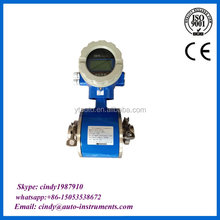 digital milk meter electromagnetic flow meter sanitary magnetic flowmeter made in China