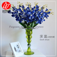 140910 Top quality alibaba express china Cheapest fabric orchid artificial blue