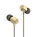 comfortable mobile phone accessories Stereo Headphones, whole sale metal wired earphone in ear earbuds