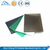 Decoration Smoked Polycarbonate Mutiwall Sheets