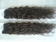 spring curl 18 inch double beads micro loop hair extension