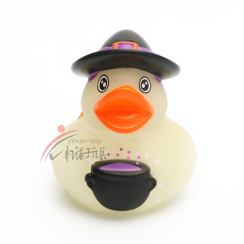 floating plastic duck mini bath rubber duck kids Non-toxic duck with hat PVC