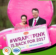 Pink Silage Film For Irish Cancer Society Breast Cancer Campaign