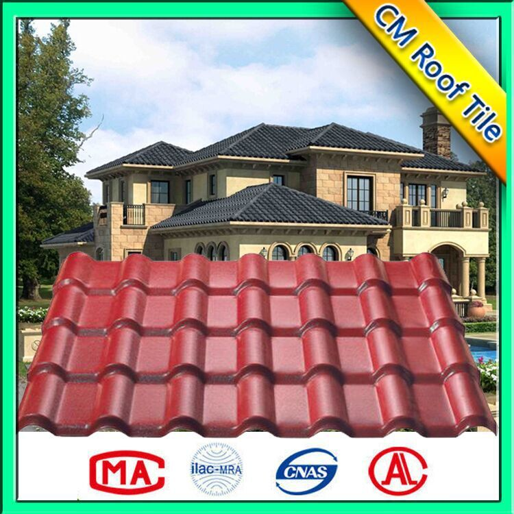 Hot Sales Environment Friendly Spanish Style Roof Tile/Roofing Sheet
