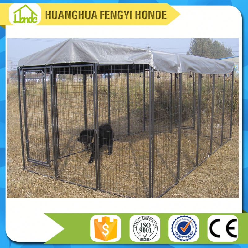 OEM Support Skillful Manufacture Big Dog Kennel And House Garden Cage