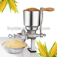 Manual Corn Grinder Flour Maker Wheat Grain Nut Mill Cast Iron Kitchen Tool