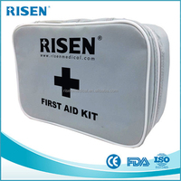 Portable outdoor first aid kit emergency medical kit travel camping survival kit car home medical bag