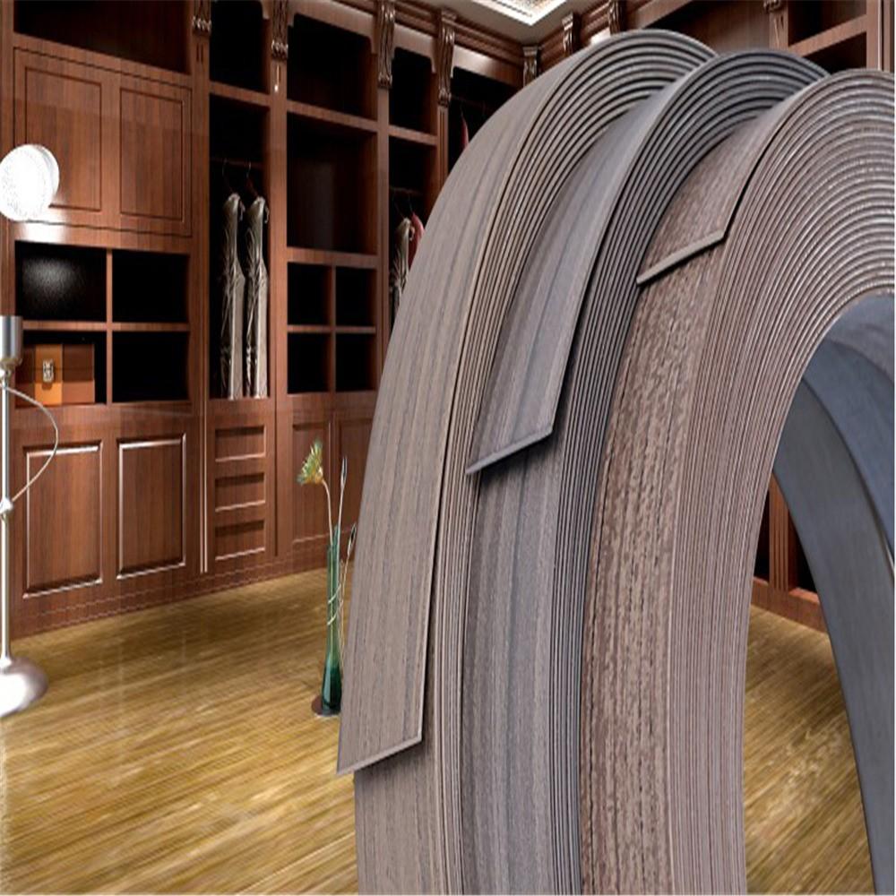 Pvc caoutchouc comptoir bande de bordure mdf cabinet pvc bord de baguage bande