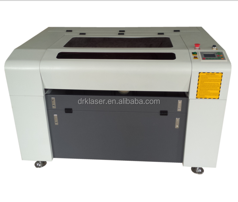 acrylic fabric leather crystal MDF plywood co2 6040 60w laser engraving/cutting machine laser cutter 50W