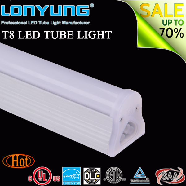 lampada led4ft 1.2m 9w-44w led t8 integrated light led ceiling light eva notty tube