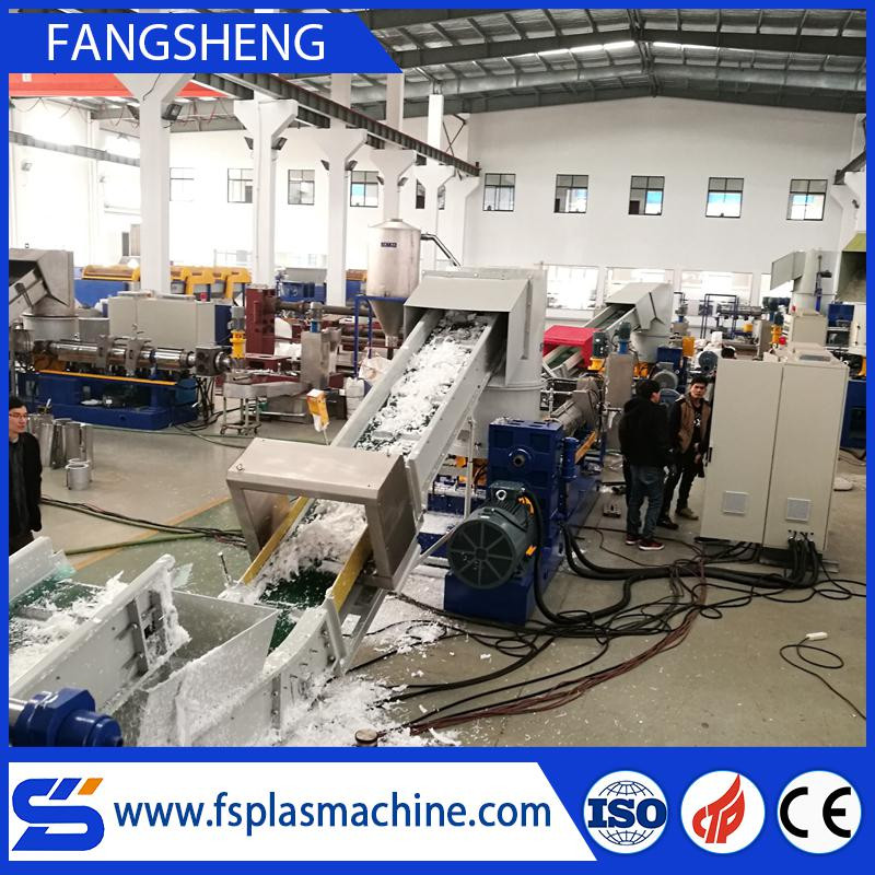 Plastic pelletizing machine for recycle plastic pe pp film
