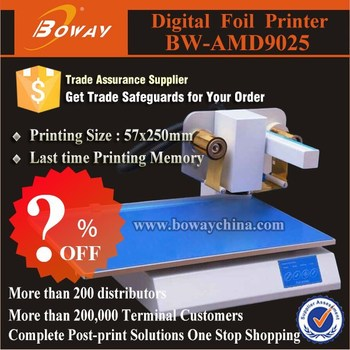 Promotion ?% discount AMD9025 digital hot foil printer