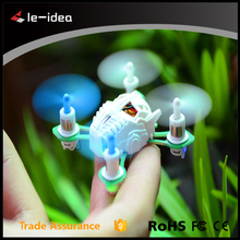 Hot Sale! Toys for Kids 3D flip, LED Light Night Fight Smallest 5CM RC Pocket Nano Drone Helicopter