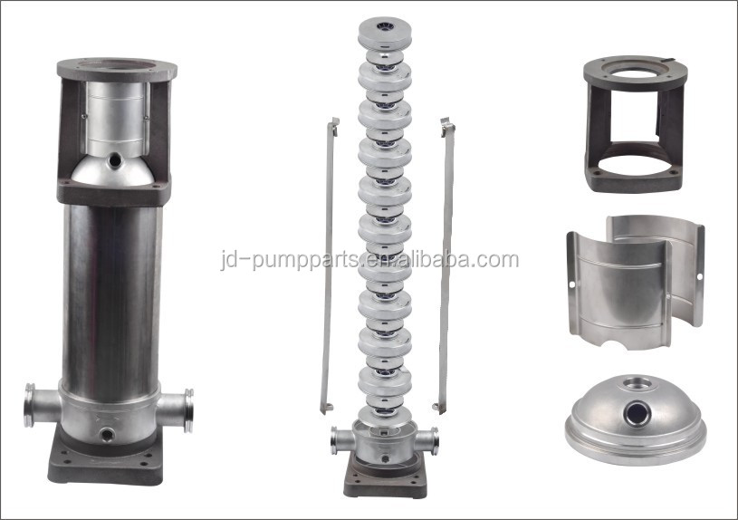 Multistage pump accessories-12T-vertical