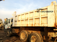 used cxz izusu dump truck spare parts, used lorry for sale in china