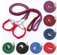 Strong Pet Dog Leash Braided Rope Dog Leads for Medium Large Husky Labrador