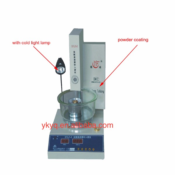 STLZ-2ADouble-Digital Display Asphalt Penetration Apparatus/Mobile Asphalt Bitumen Needle Penetration Test Device For Sale
