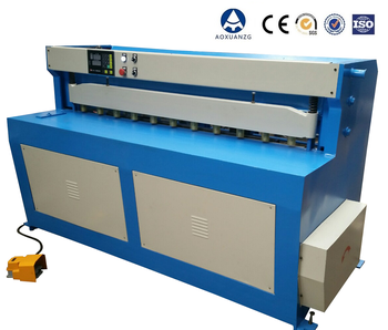 Small Size electric plate cutting machine shearing machine for sale