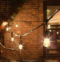 Factory Direct High Quality S14 Incandescent and LED Bulb Light String Patio Outdoor Light